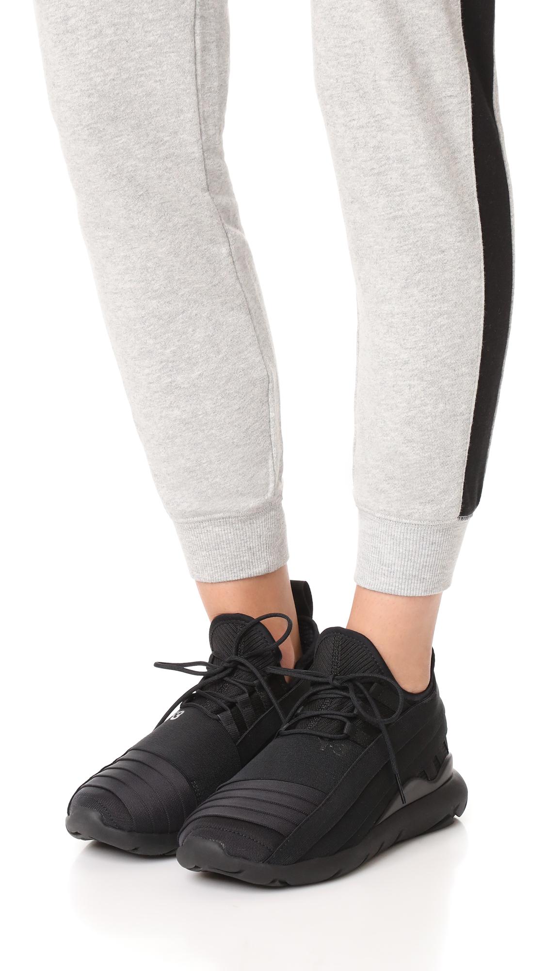 88a588936ccc7 Y-3 Y-3 Qasa Elle Lace Sneakers 2.0