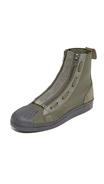 Y-3 Y-3 Pro Zip Sneakers In Black Olive/Black