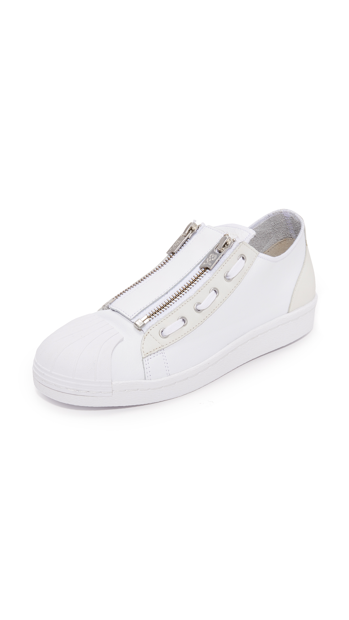 Y-3 Y-3 Super Zip Sneakers - White/Sheet Grey