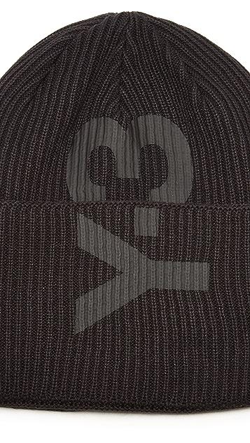 Y-3 Logo Beanie