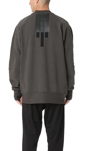 Y-3 Y-3 Stripes Bomber Sweatshirt