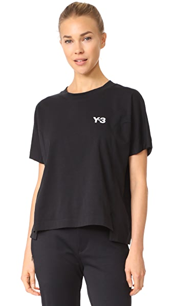 Y-3 Y-3 Short Sleeve Graphic Tee