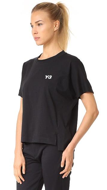 Y-3 Y-3 Short Sleeve Graphic Tee