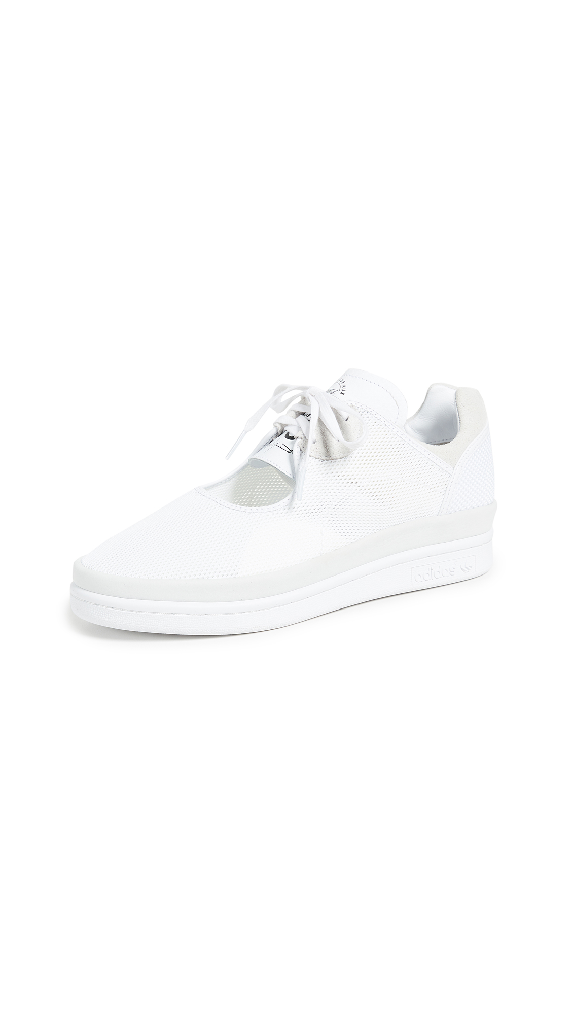 Y-3 Wedge Stan Sneakers In White/Core Black/White