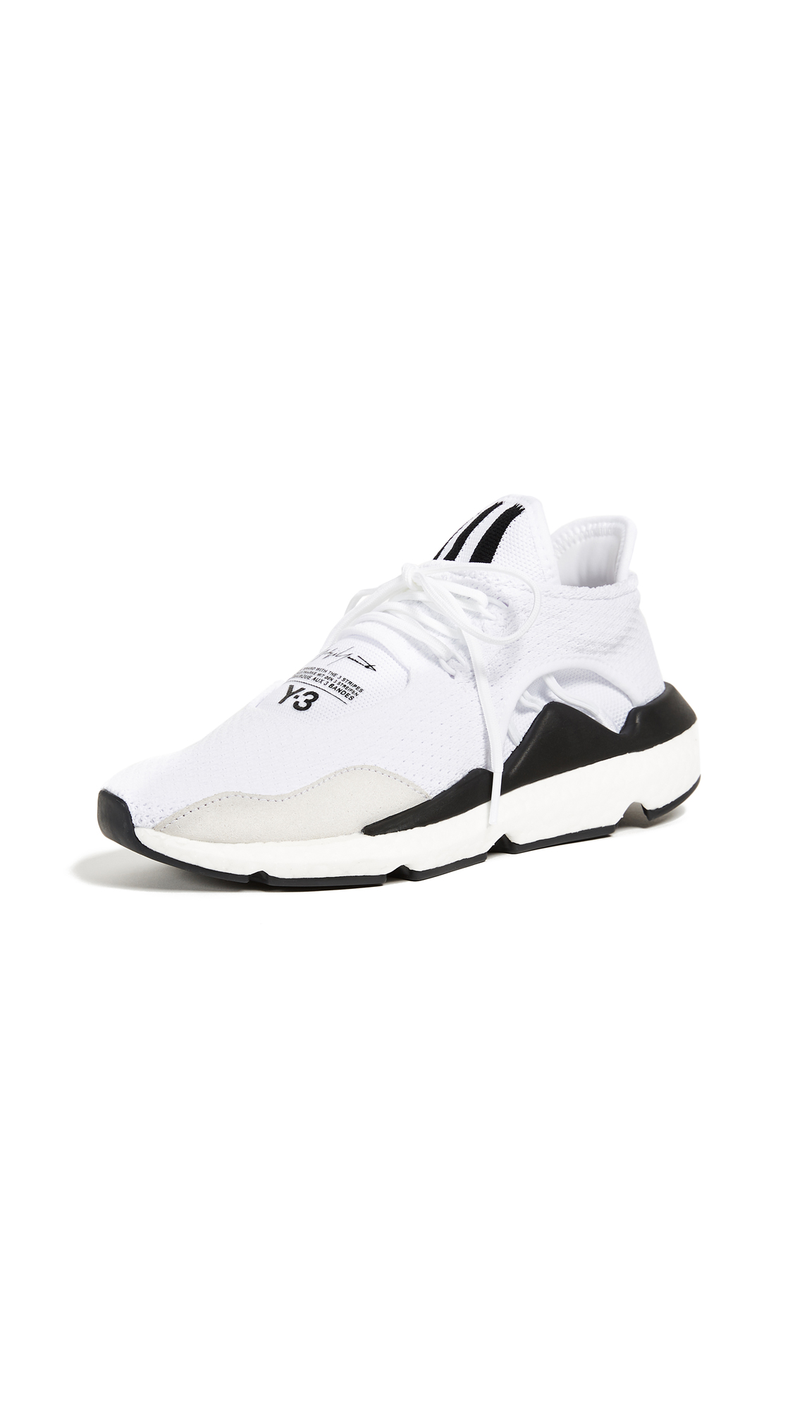 Y-3 Y-3 Saikou Sneakers - White/Black/Black