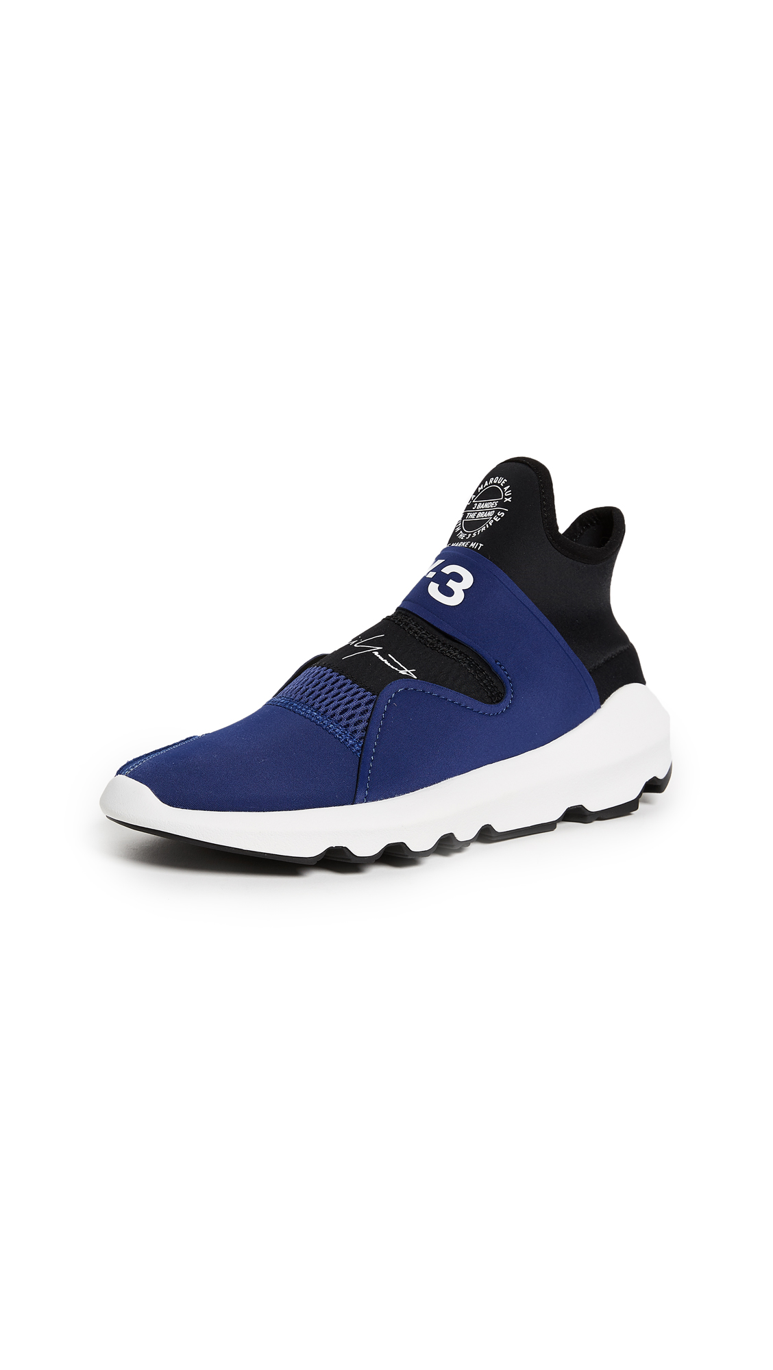 Y-3 Y-3 Suberou Sneakers - Unity Ink/White/Black