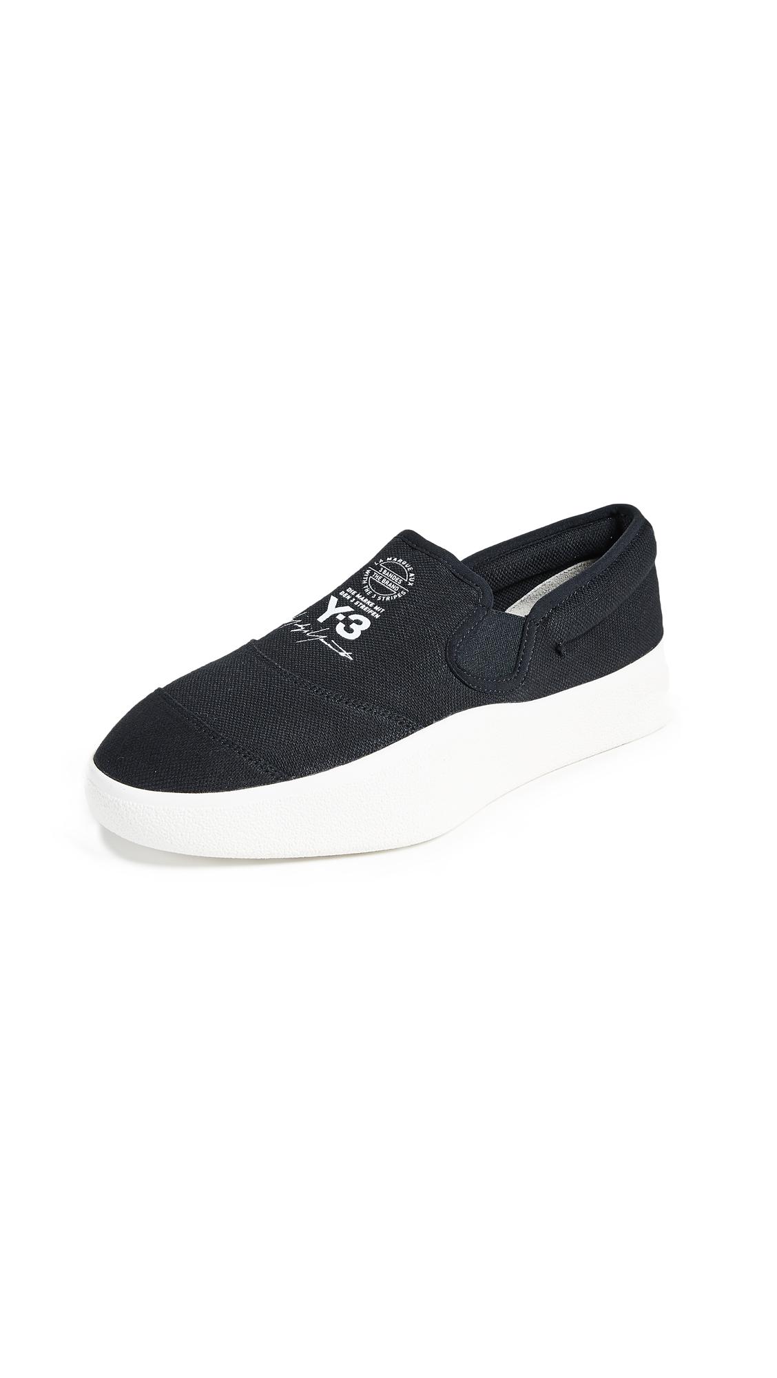 Y-3 Tangutsu Sneakers - Black/White/White