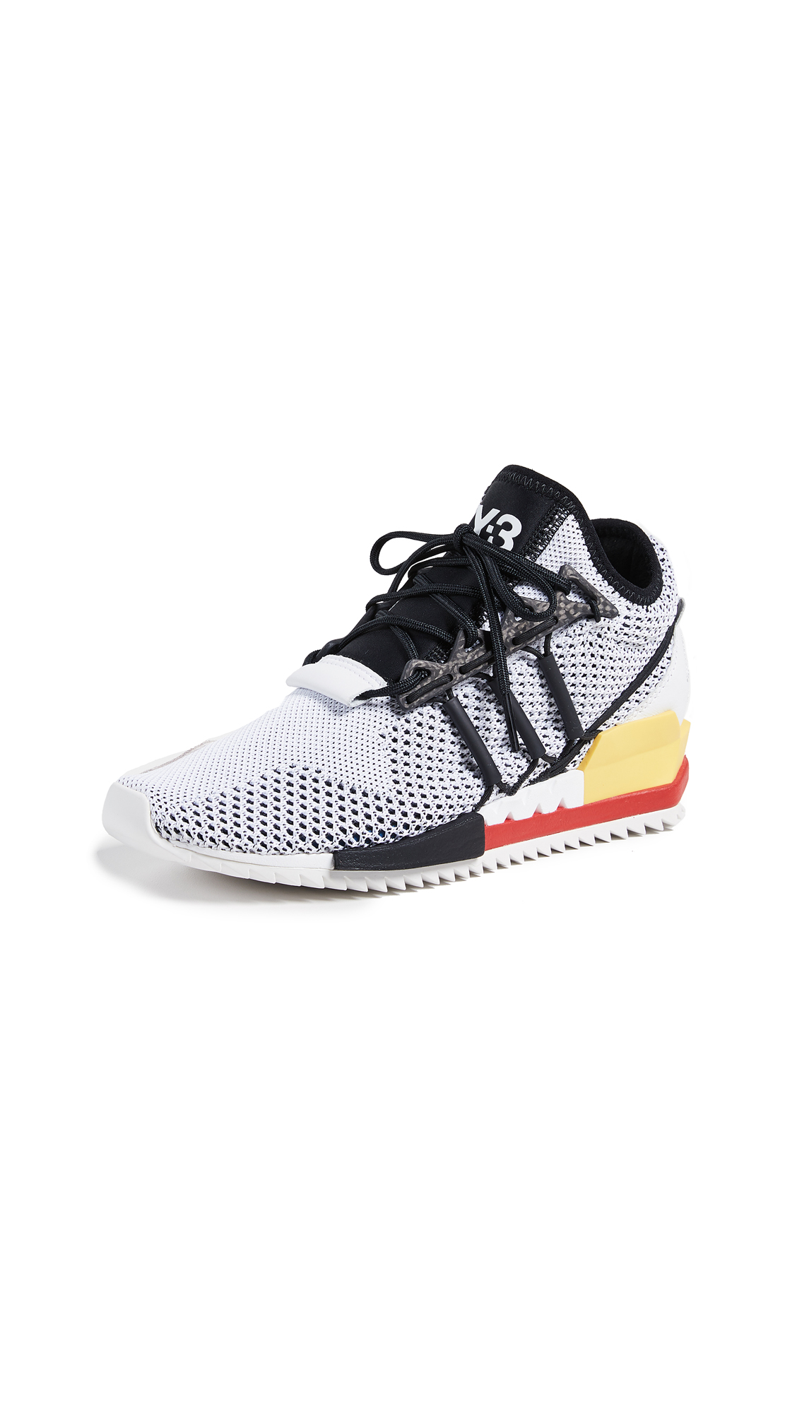Y-3 Harigane Sneakers - White/Black/Red
