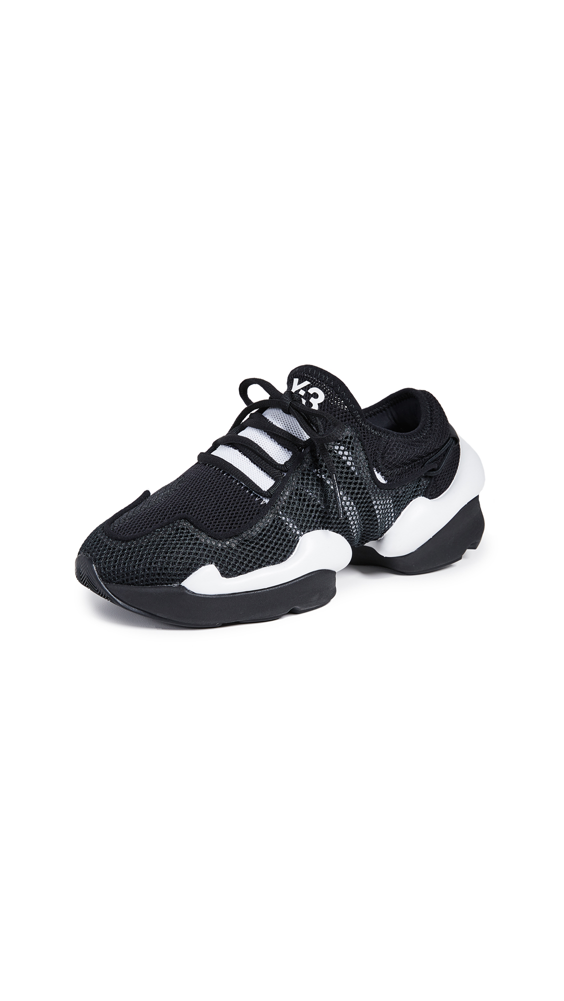 Y-3 Y-3 Ren Sneakers - Core Black/Black/White