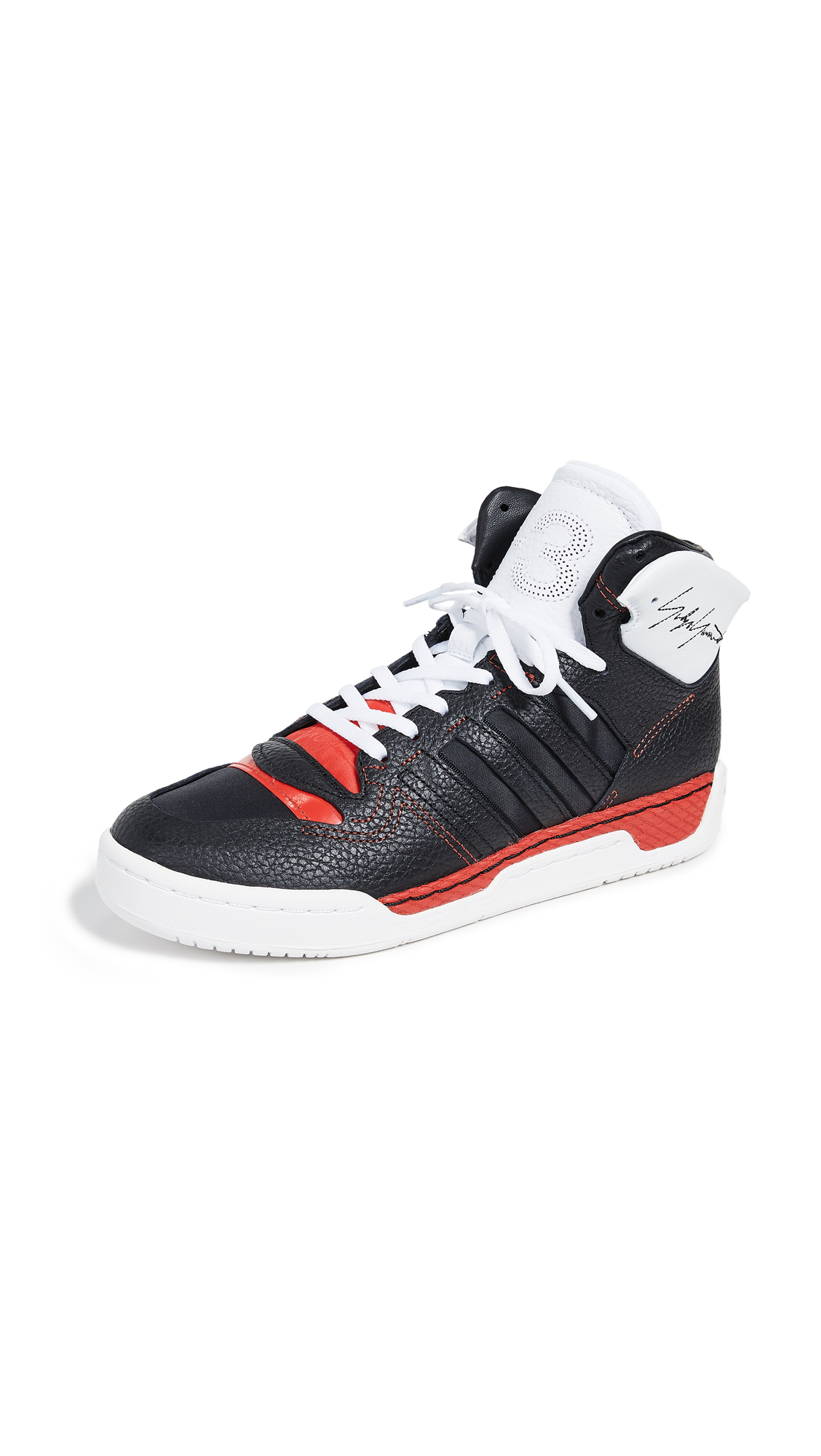 Y-3 Y-3 Hayworth Sneakers - Black Y-3/Black/Red