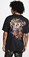 Y-3 Short Sleeve Toketa Print Tee