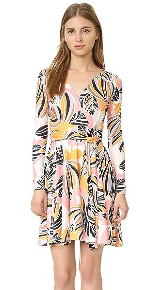 Yumi Kim Double Cross Dress - Retro Bloom Print