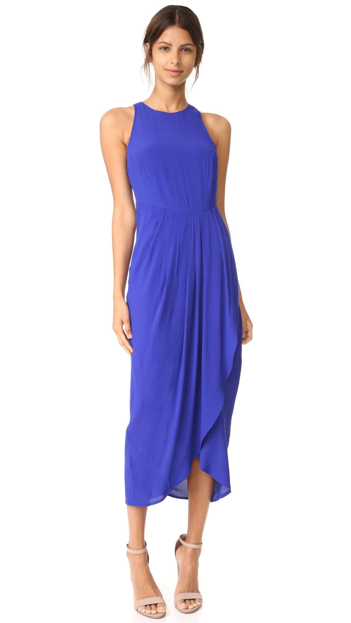 Yumi Kim So Social Maxi Dress In Royal Blue