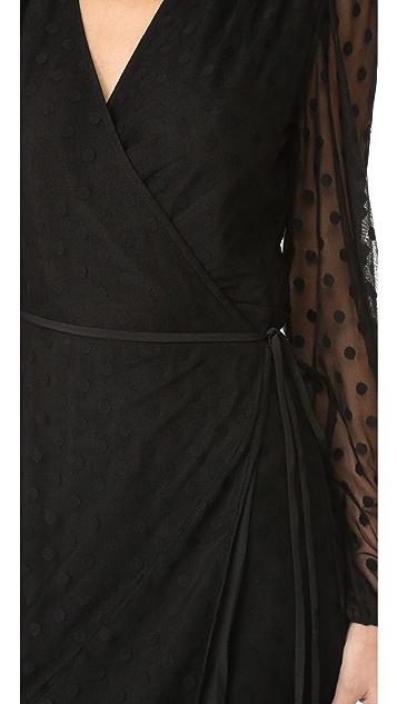 Yumi Kim Wicked Game Wrap Maxi Dress