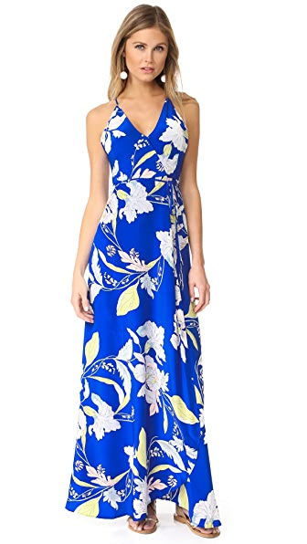 Yumi Kim Rush Hour Maxi Dress - Eastern Garden Royal Blue