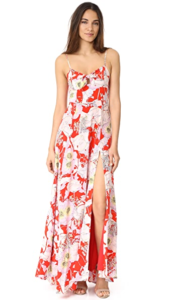 Yumi Kim Watch Me Maxi Dress - Bora Bora Red