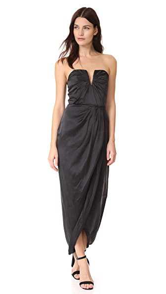 Yumi Kim Bombshell Maxi Dress In Black