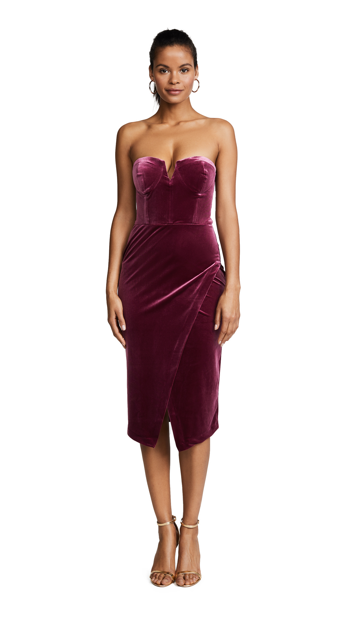 Yumi Kim Velour Allure Dress
