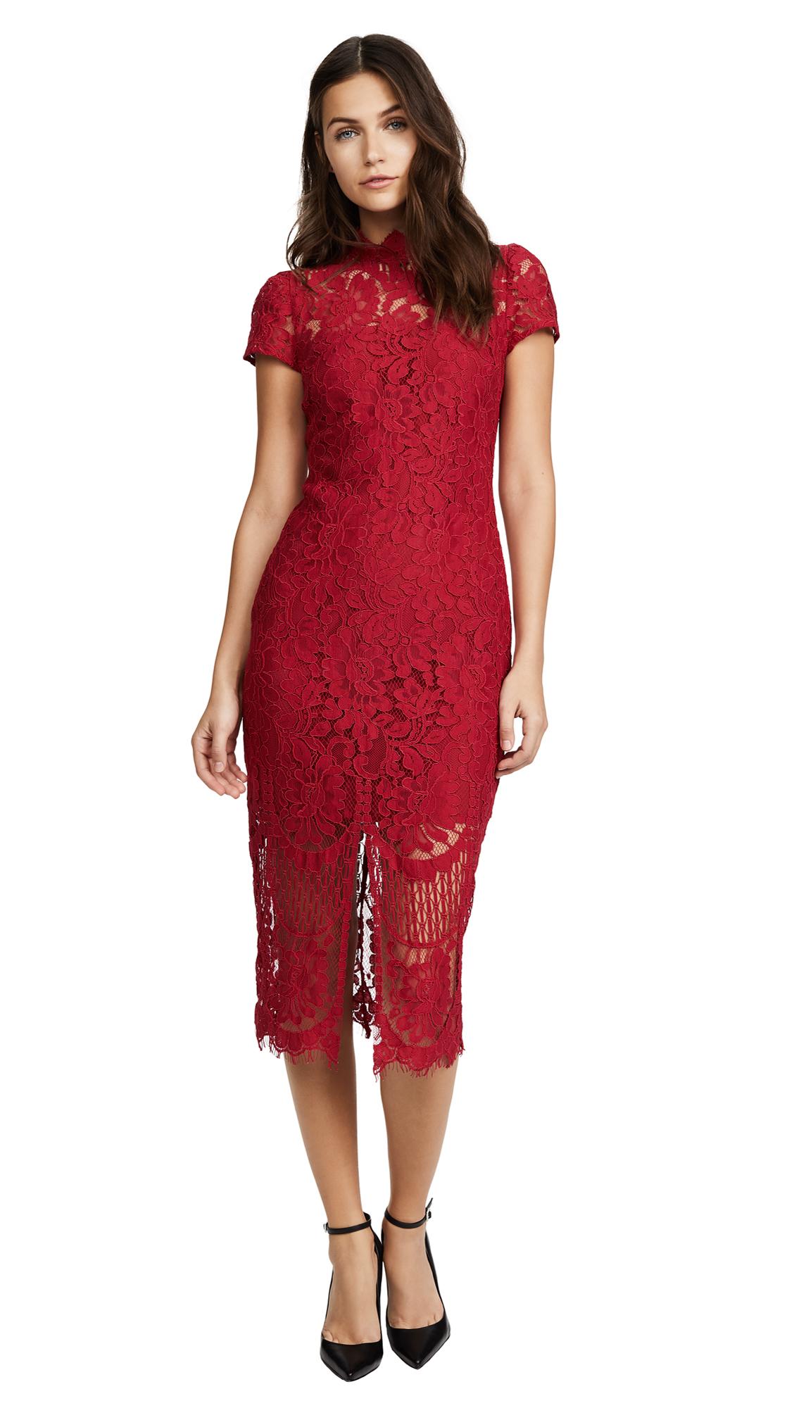 Yumi Kim Debutante Dress - Crimson