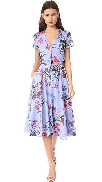 Yumi Kim Making Moves Dress - Misty Bouquet Blue