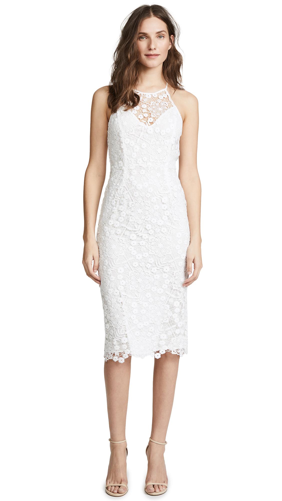 She'S Mine Lace Dress, White