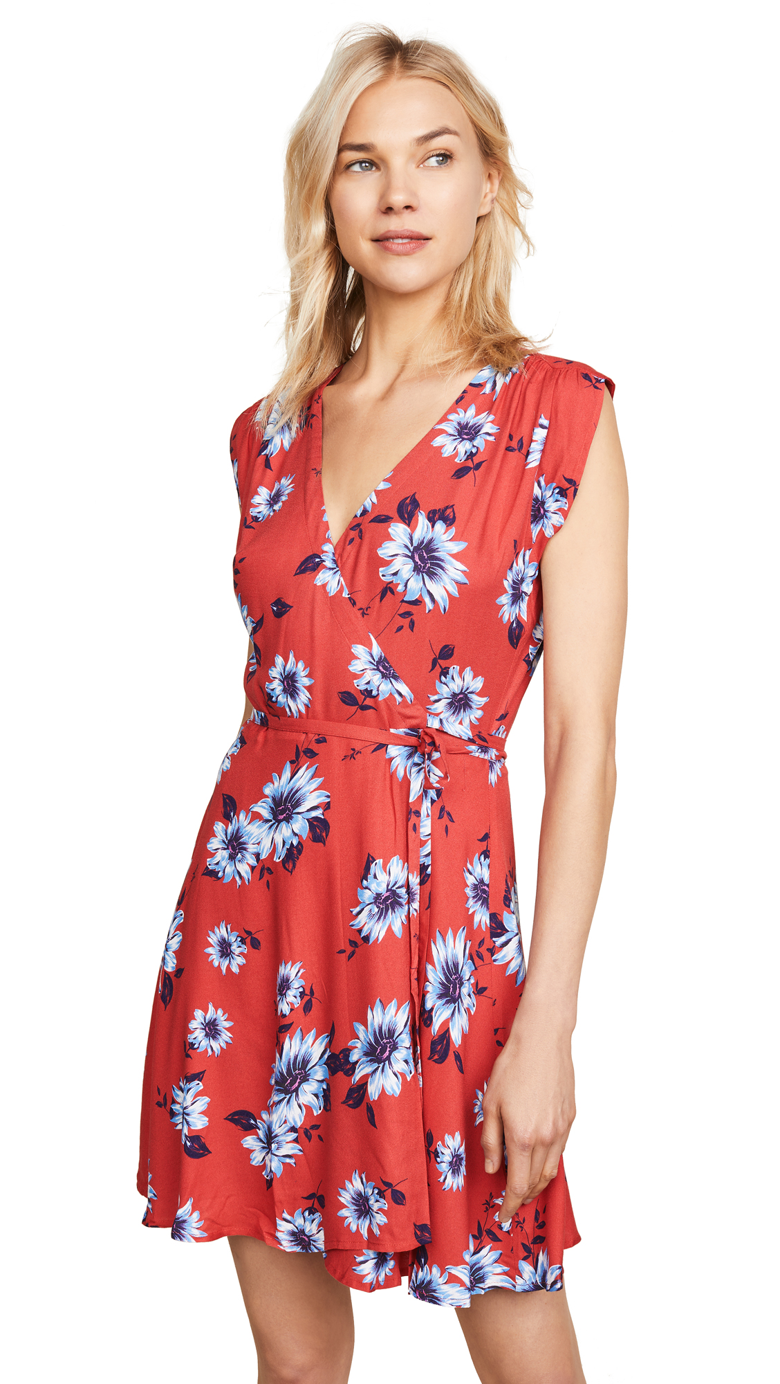 YUMI KIM Soho Mixer Dress in Finders Keepers Red