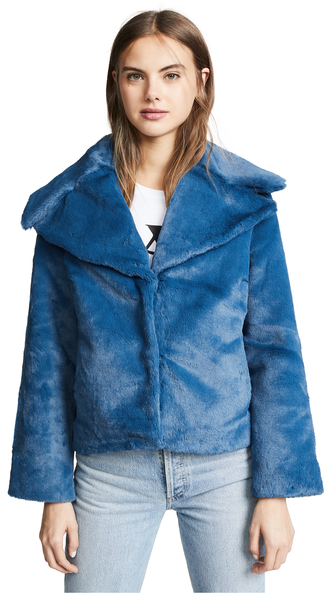 Yumi Kim Park City Faux Fur Jacket