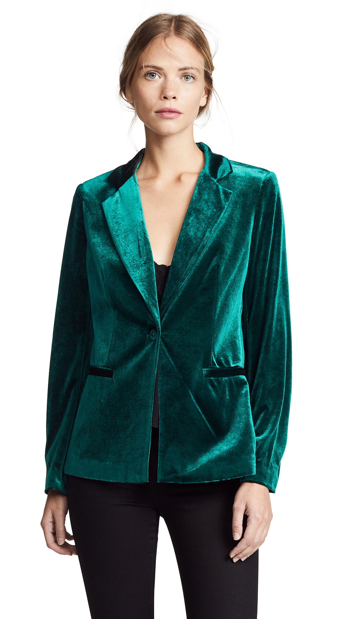 YUMI KIM Trail Blazer Jacket in Jewel Emerald