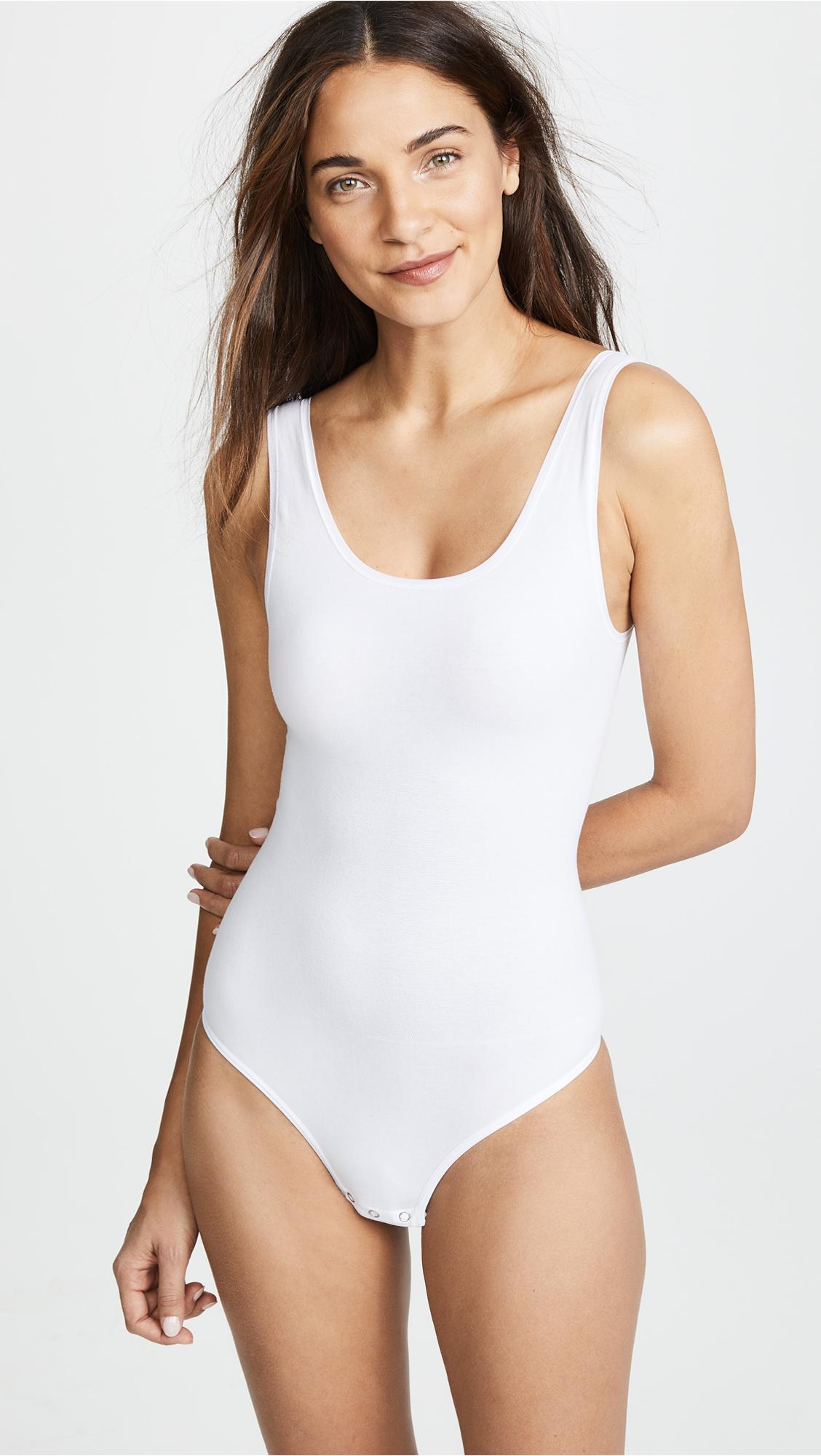 ddac117dc27 Yummie Ruby Scoop Neck Bodysuit | SHOPBOP