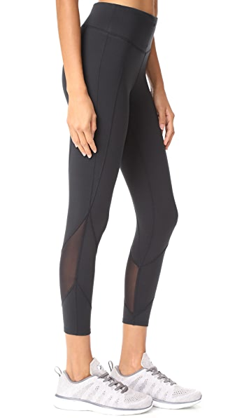 Yummie 3/4 Leggings - Black