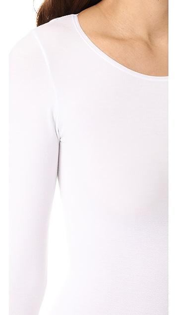 Yummie Long Sleeve Thong Bodysuit