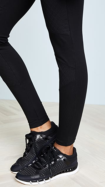 Yummie Quilted Moto Leggings
