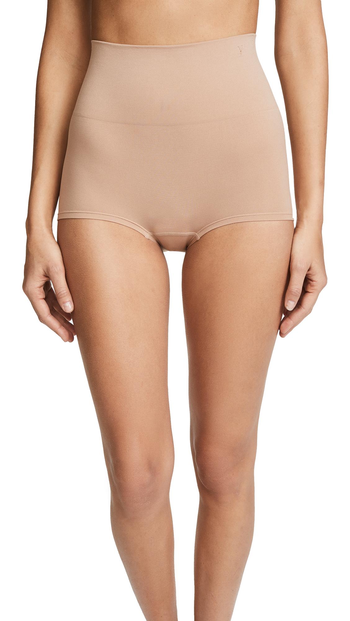 Yummie Ultralight Girl Shorts In Almond