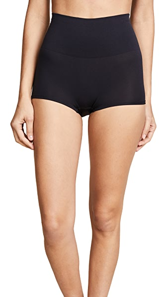 Yummie Ultralight Girl Shorts In Black
