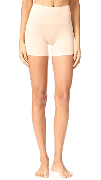 Yummie Seamlessly Shaped Ultralight Nylon Shorts - Frappe