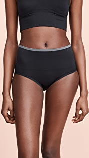 Yummie Ultralight Seamless Brief with Lace Insert