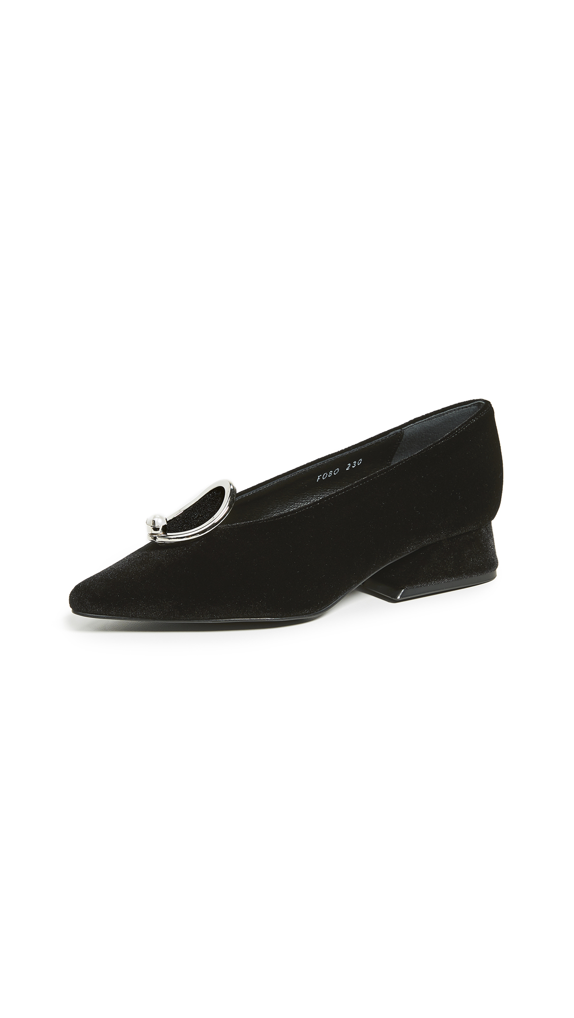 Yuul Yie Y-Heel Low Pumps - Black