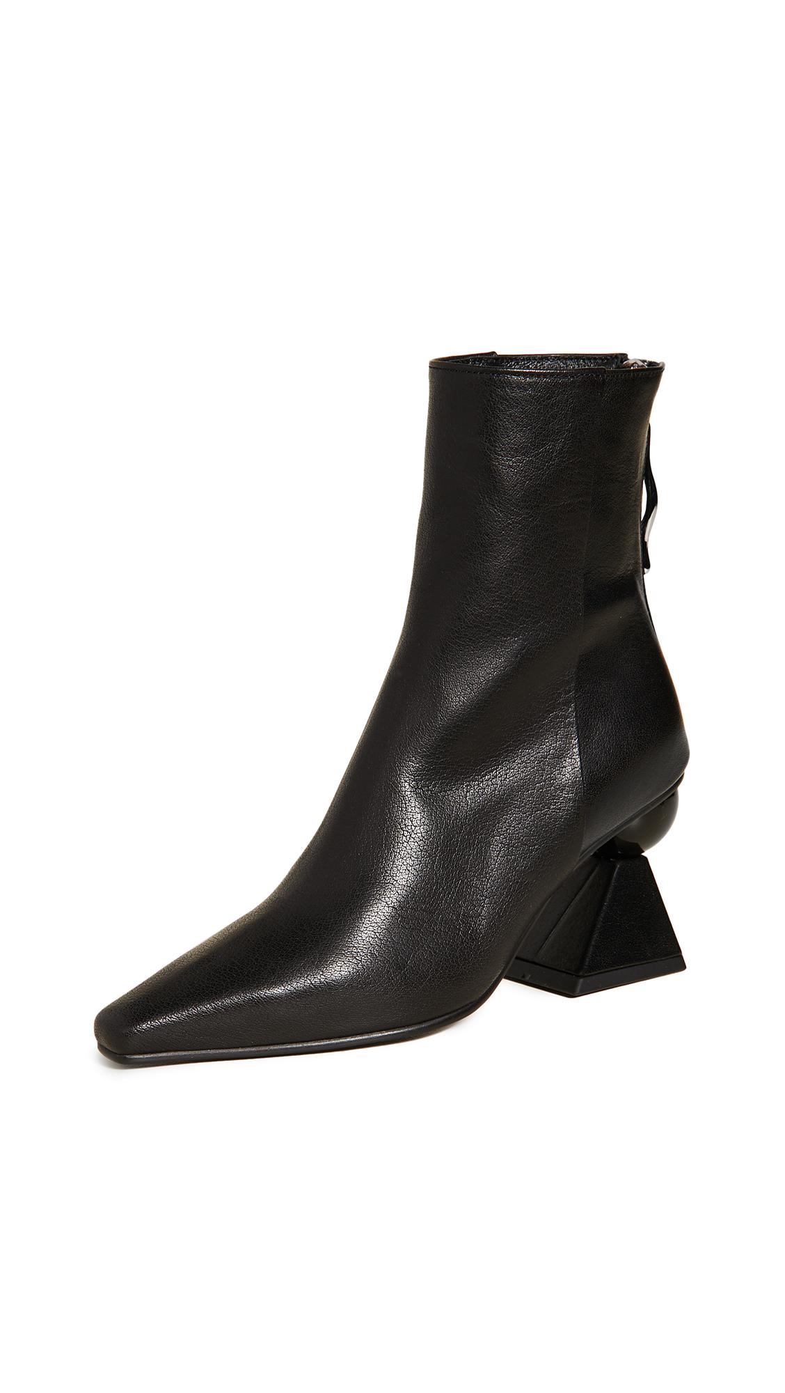 Yuul Yie Boots AMOEBA GLAM HEEL BOOTS