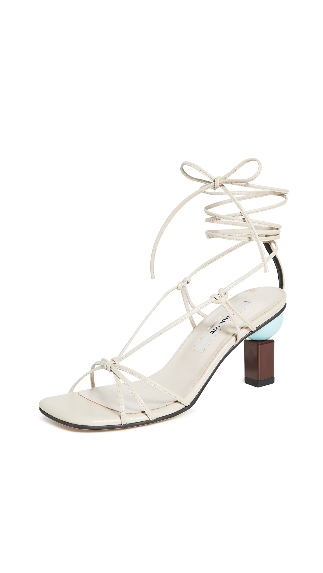 Buy Yuul Yie Trophy Lace-Up Sandals online, shop Yuul Yie
