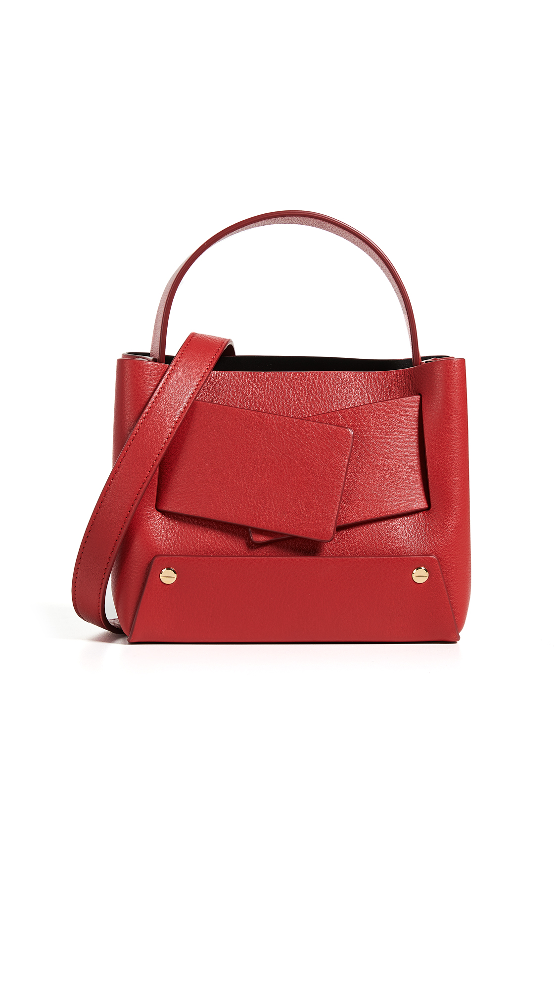 Dinky Bag, Red/Marmo