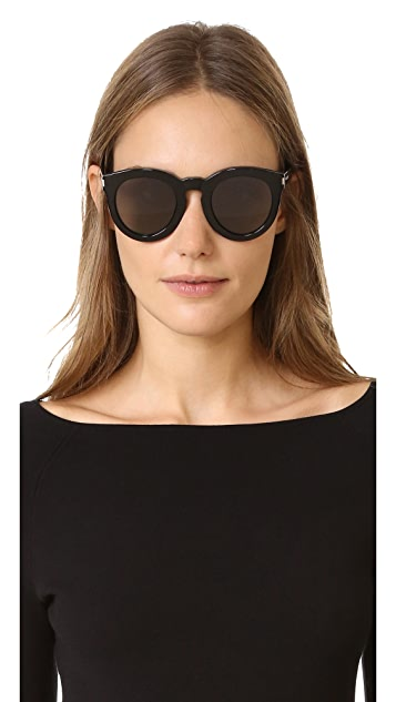 Saint Laurent SL 102 Mineral Glass Sunglasses