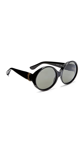 Saint Laurent SL M1 Sunglasses - Black/Smoke
