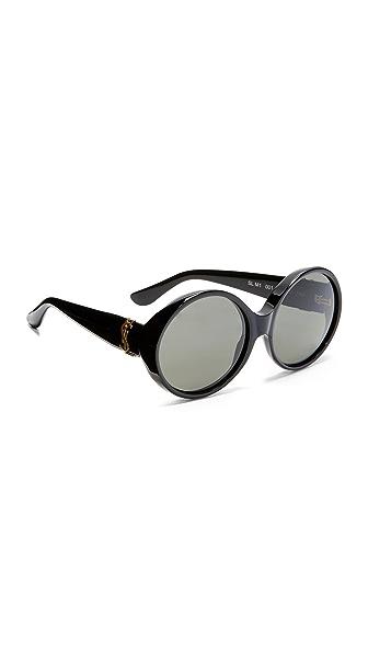 Saint Laurent Солнцезащитные очки в SL M1