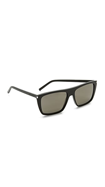 Saint Laurent SL 156 Sunglasses - Black/Grey