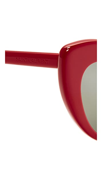Saint Laurent SL 181 Lou Lou Hearts Sunglasses