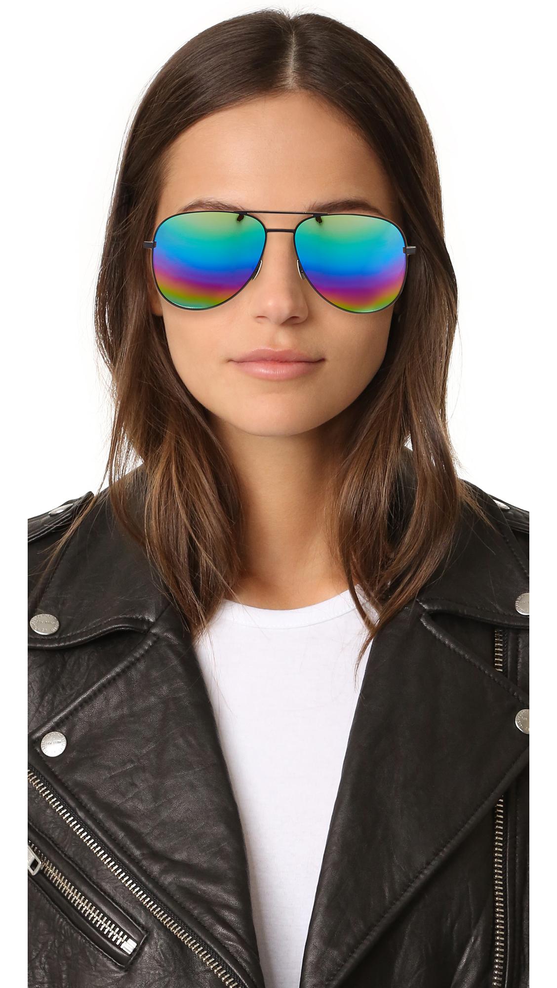 2b131abbfa8 Saint Laurent Classic 11 Rainbow Sunglasses