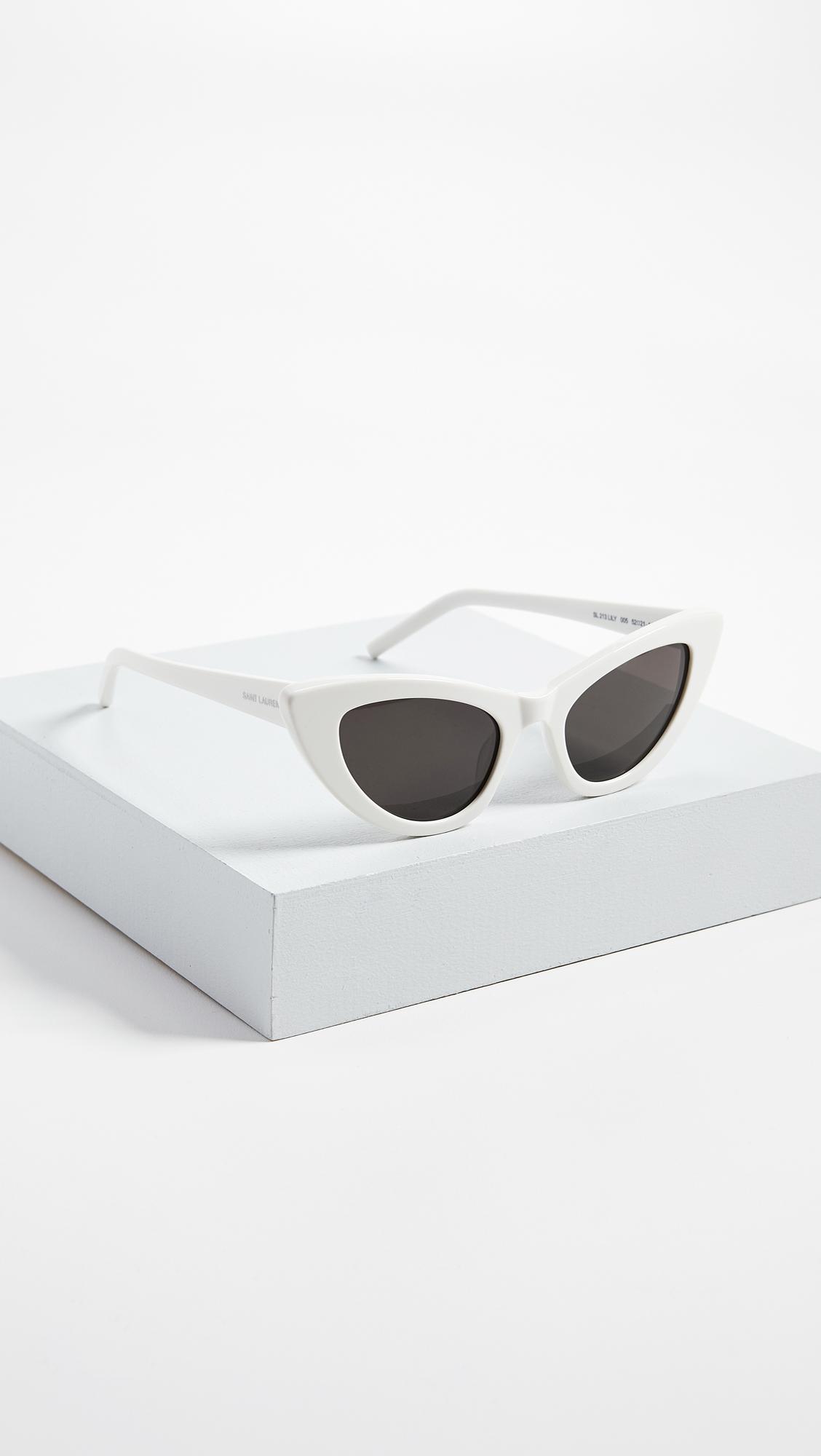 c0f919865e682f Saint Laurent SL 213 Lily Sunglasses   SHOPBOP