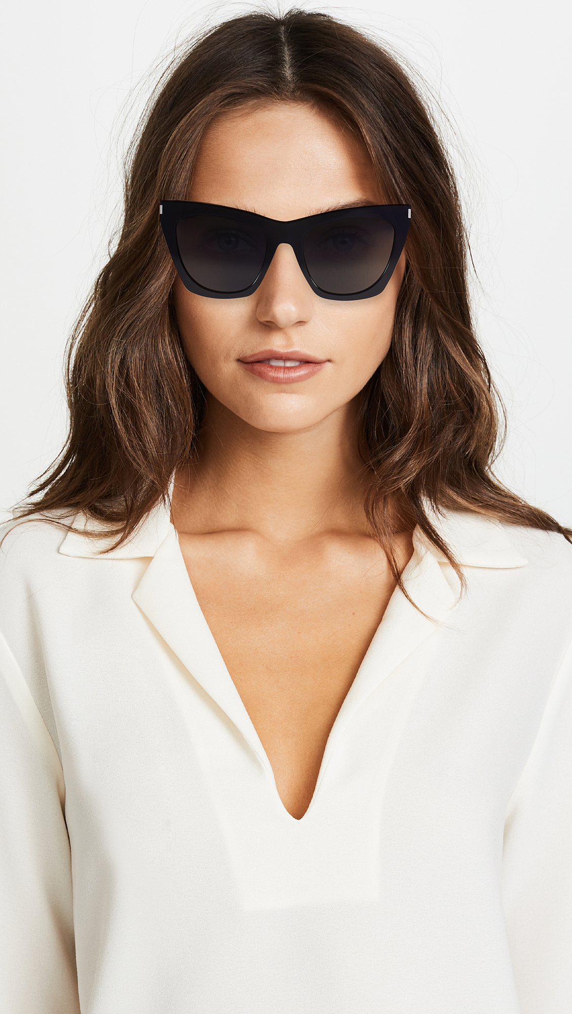 419da65db34 Saint Laurent Kate Cat Eye Sunglasses