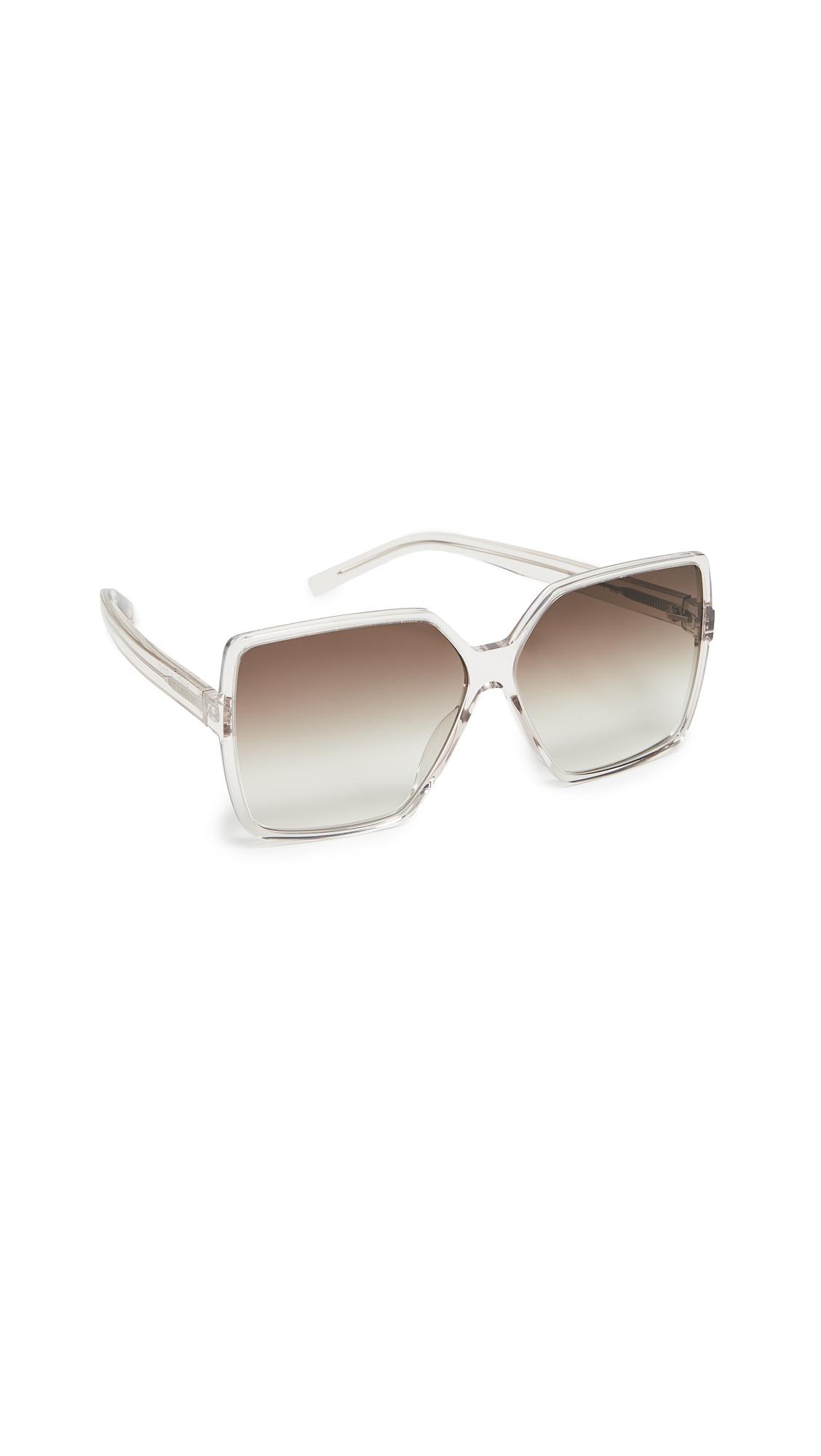 Sl 232 Betty Sunglasses, Transparent Powder/Gradient