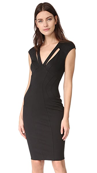 Zac Posen ZAC Zac Posen Joni Dress - Black